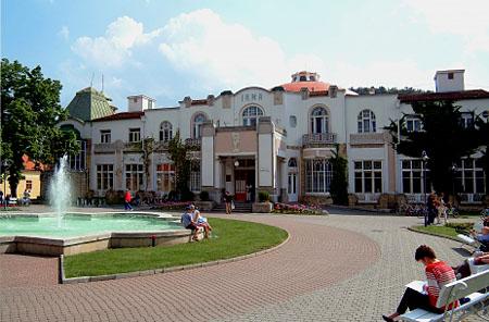 Купельный дом ''Ирма'' в Пиештянах